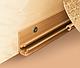 Плинтус для столешницы IDEAL 181 Сланец светлый с мягкими краями для кухни 3м, фото 6
