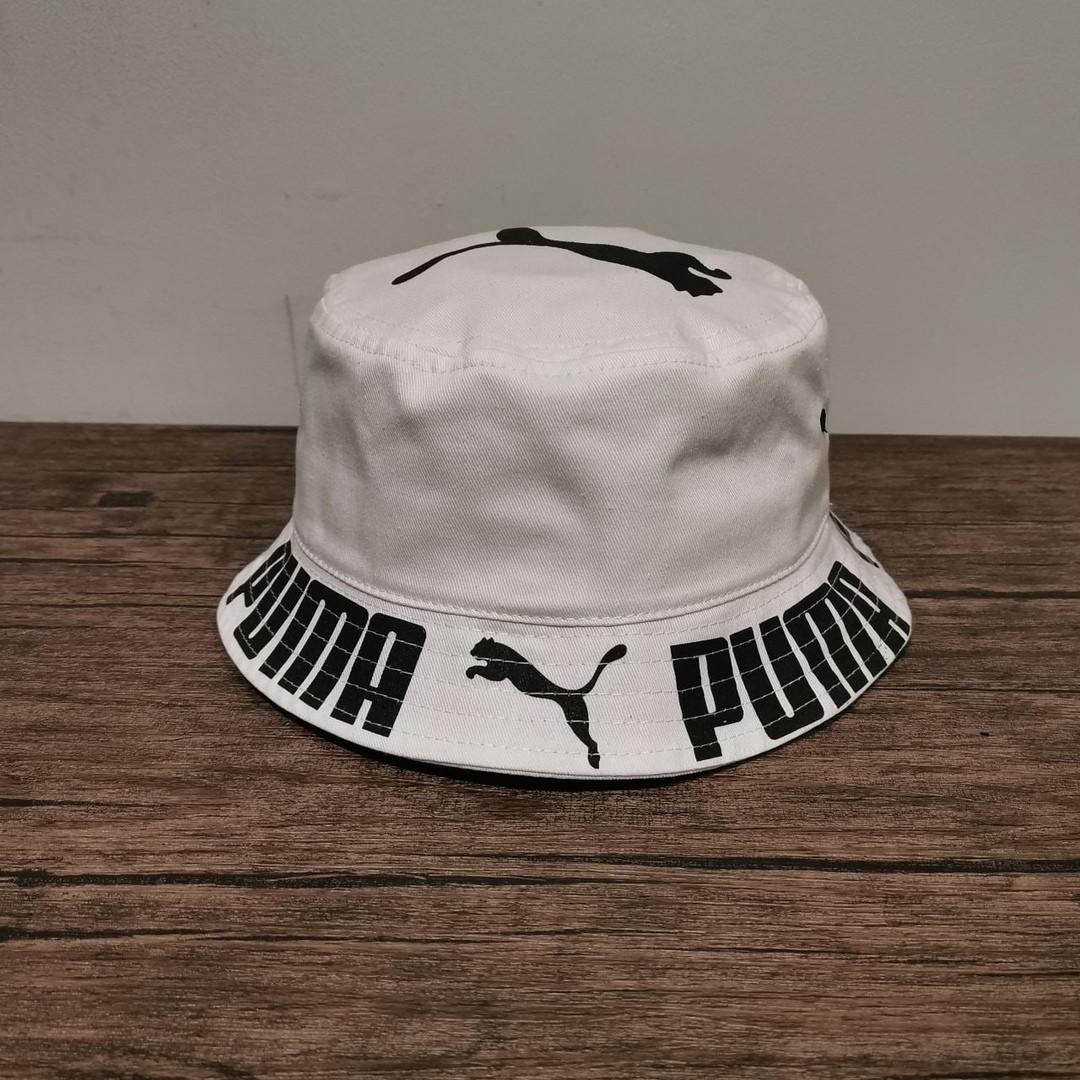 Летняя панама Puma. Модная светлая шляпа Пума.