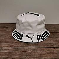 Летняя панама Puma. Модная светлая шляпа Пума., фото 1