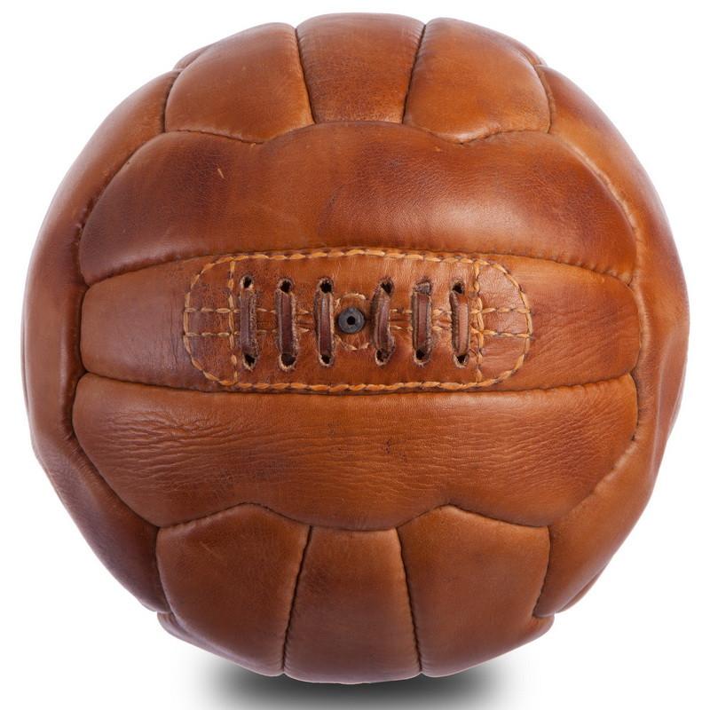 Кожаный винтажный мяч SWC 1954