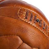 Кожаный винтажный мяч SWC 1954, фото 3