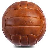 Кожаный винтажный мяч SWC 1954, фото 2