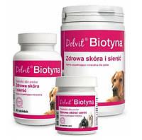 Долфос Биотин 90 таб (Dolvit Biotyna) витамины для кожи и шерсти собак
