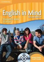 Учебник English in Mind Starter (2nd Edition) Students Book with DVD-ROM / Cambridge. Автор: Herbert Puchta