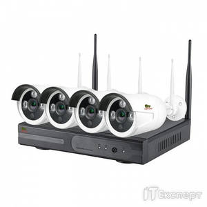 Комплект IP Partizan Outdoor Wireless Kit 2MP 4xIP v1.1