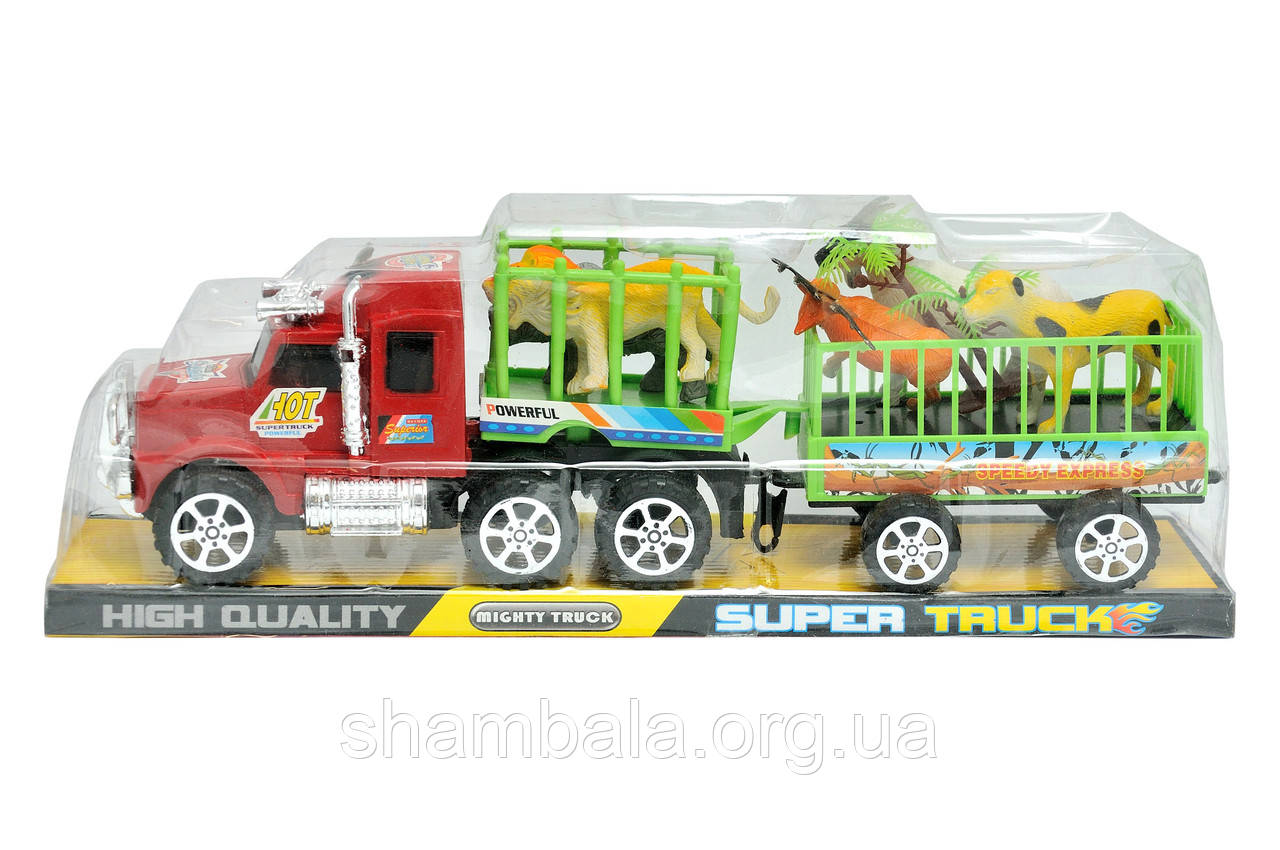 "Грузовая машина с животными ""Super truck"" (067155)"