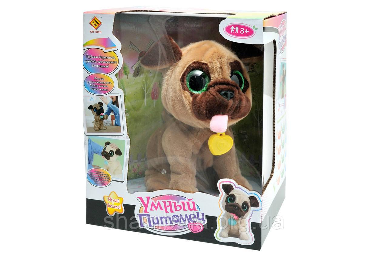 """Інтерактивна іграшка CH Toys """"Розумний вихованець"""" зелені очі (076737)"""