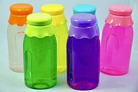 "Слайм, лизун, набор ""Бутылка"" 15х7 см, игрушка детская антистресс, набор 6 шт"