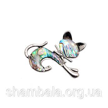 "Брошка Fashion Jewerly ""Cat gradient"" (048833)"