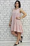 Платье женское, РОСТОВКА, р-р от 42 до 52. Летнее женское платье, фото 3