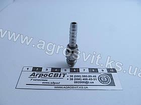 """Штуцер AGJ 7/16""""-20  (под шланг dу=06 мм.)"""