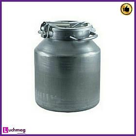 Бідон алюмінієвий для молока Калитви 18 літрів