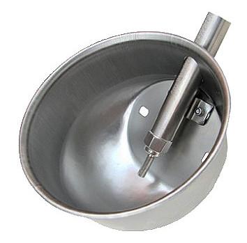 Чашечная поилка для свиноматок из нержавеющей стали