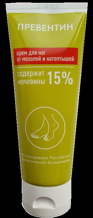 Крем Превентин для ног с мочевиной 15% (Preventin) 60 мл