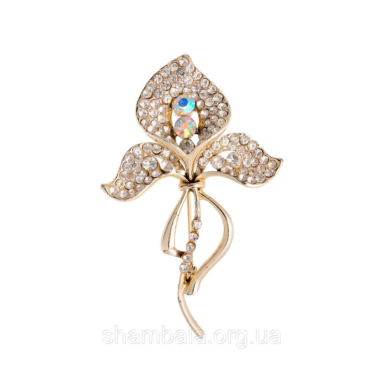 """Брошь Fashion Jewerly """"Petals"""" (010397)"""