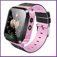Cмарт Часы Детские Smart Baby Watch Q150s KIDS GPS трекер, с сим картой Розовые