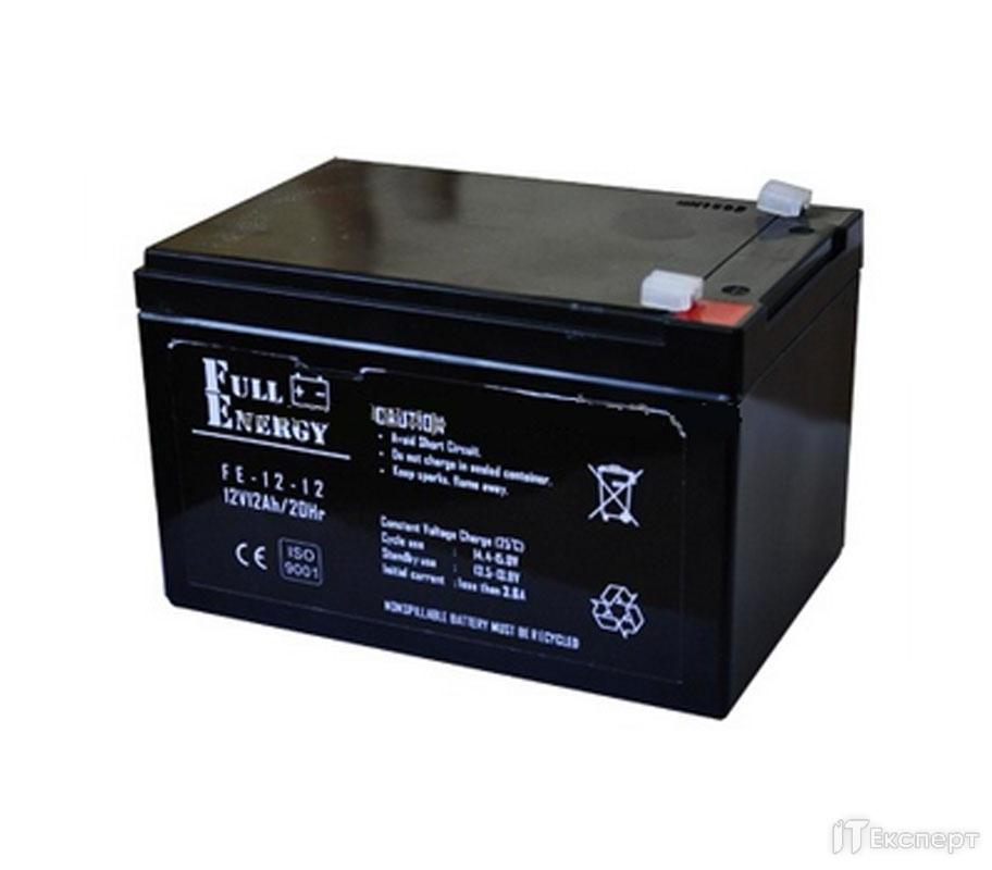 Акумуляторна батарея Full Energy 12V 1.2AH FEP-1212