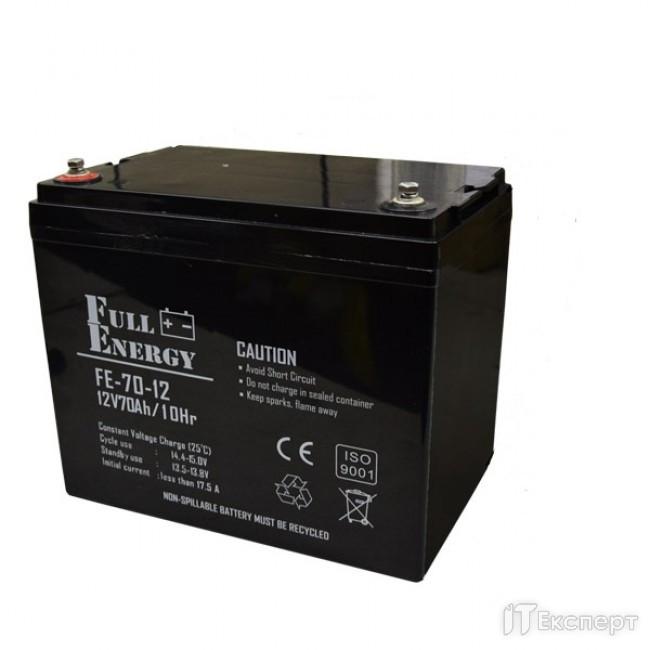 Акумуляторна батарея Full Energy 12V 70AH FEP-1270