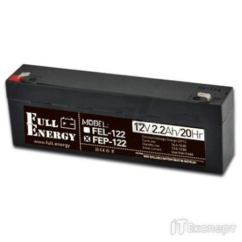 Акумуляторна батарея Full Energy 12V 2,2AH FEP-122