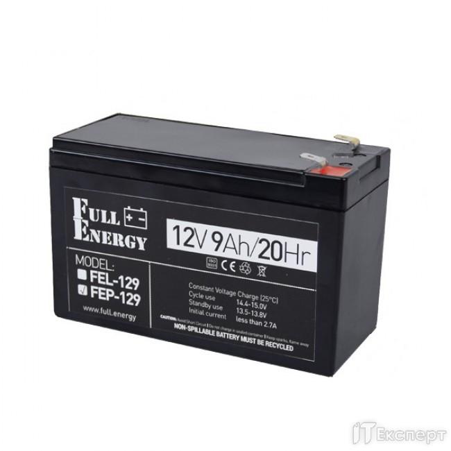 Акумуляторна батарея Full Energy 12V 9Ah FEP-129