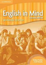 Тетрадь English in Mind Starter (2nd Edition) Workbook / Cambridge. Автор: Herbert Puchta