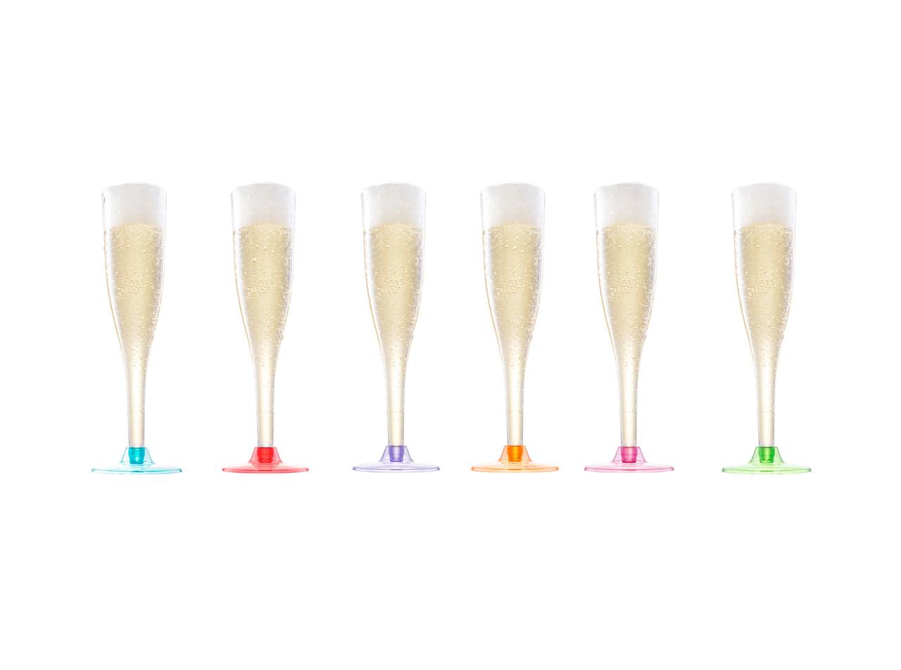 Бокалы для шампанского стеклопластик премиум 165мл 6 шт. CAPITAL FOR PEOPLE
