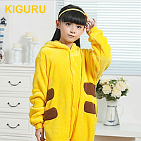 Теплая детская пижама Пикачу
