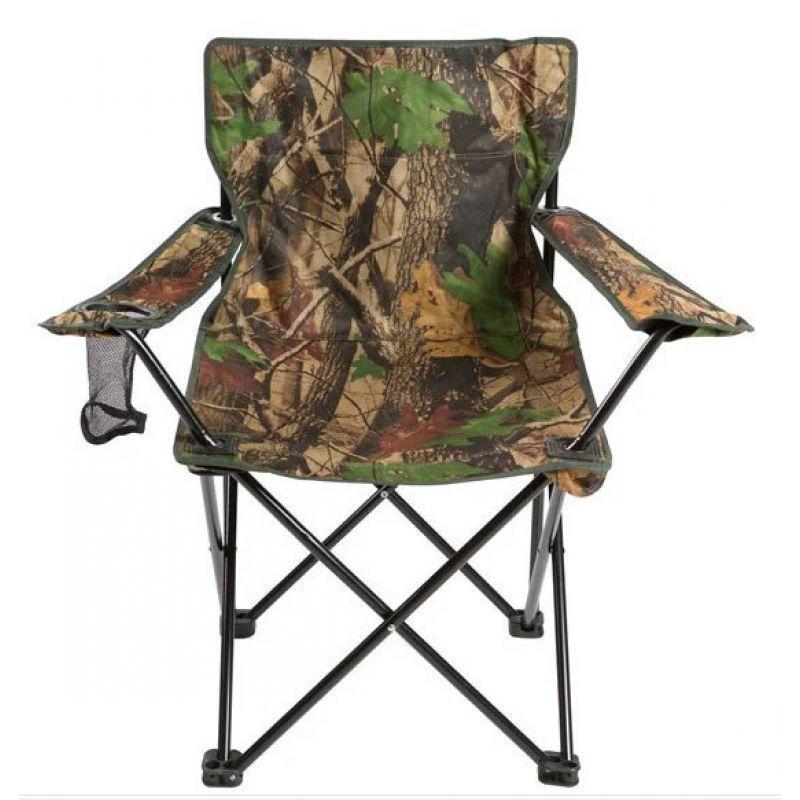 Кресло складное для пикника и рыбалки M1 Камуфляж