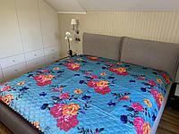 Одеяло летнее атласное двуспальный размер 175/205