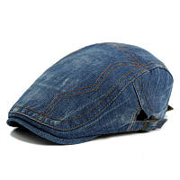 Кепка хулиганка джинсовая мужская