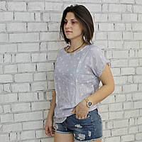 Футболка женская, РОСТОВКА, размеры 48-56 (полномеры). Модные летние футболки для женщин.