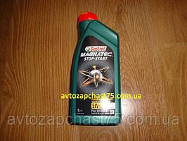 Масло моторное Castrol Magnatec Stop-Start 5w-30 A5 , 1 литр (производитель Castrol, Германия)
