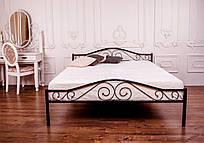 Металева ліжко 160х200 POLO black ТМ EAGLE