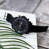 Мужские спортивные часы Sanda 6012 All Black, фото 3
