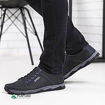 Кроссовки мужские черные 40р, фото 2