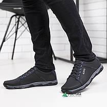 Кроссовки мужские черные 40р, фото 3