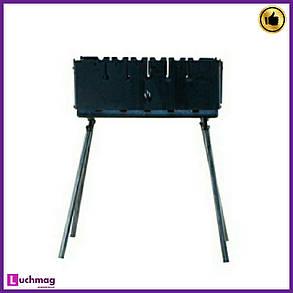 Мангал-чемодан на 10 шампуров (горячекатаный) толщина металла 2 мм, фото 2
