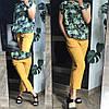 Женский костюм :блуза,штаны на резинке (42-46)