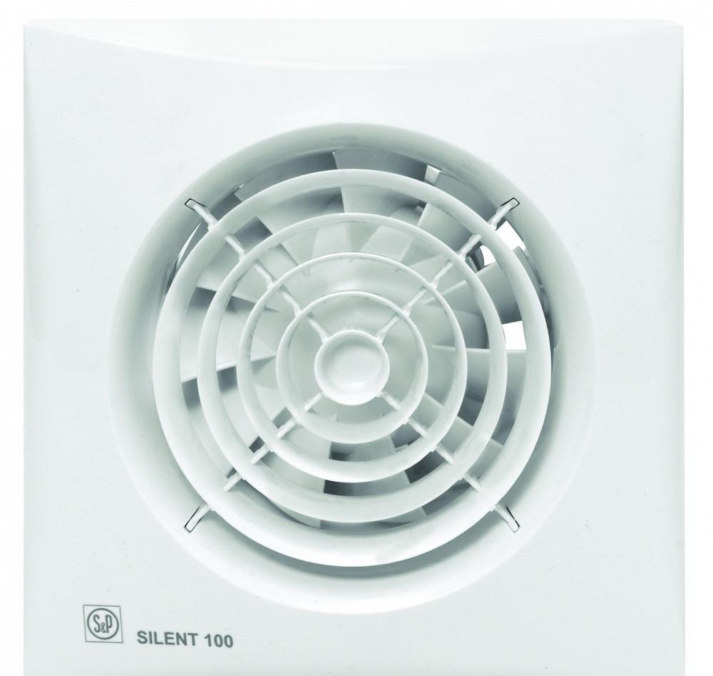 Малошумный вентилятор Soler & Palau SILENT-100 CRZ