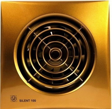 Малошумный вентилятор Soler & Palau SILENT-200 CZ GOLD