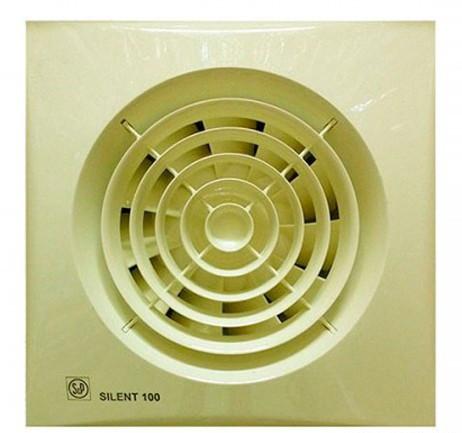 Малошумный вентилятор Soler & Palau SILENT-100 CZ IVORY