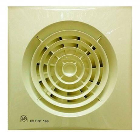 Малошумный вентилятор Soler & Palau SILENT-100 CZ IVORY, фото 2
