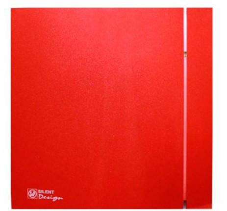 Малошумный вентилятор Soler & Palau SILENT-200 CZ RED DESIGN 4C, фото 2