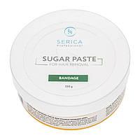 Бандажная сахарная паста для эпиляции 350 г Serica