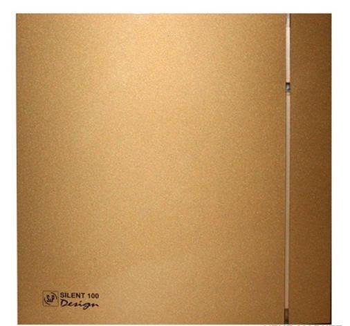 Малошумный вентилятор Soler & Palau SILENT-100 CZ GOLD DESIGN 4C, фото 2