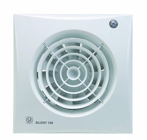 Малошумный вентилятор Soler & Palau SILENT-100 CDZ ECOWATT, фото 2