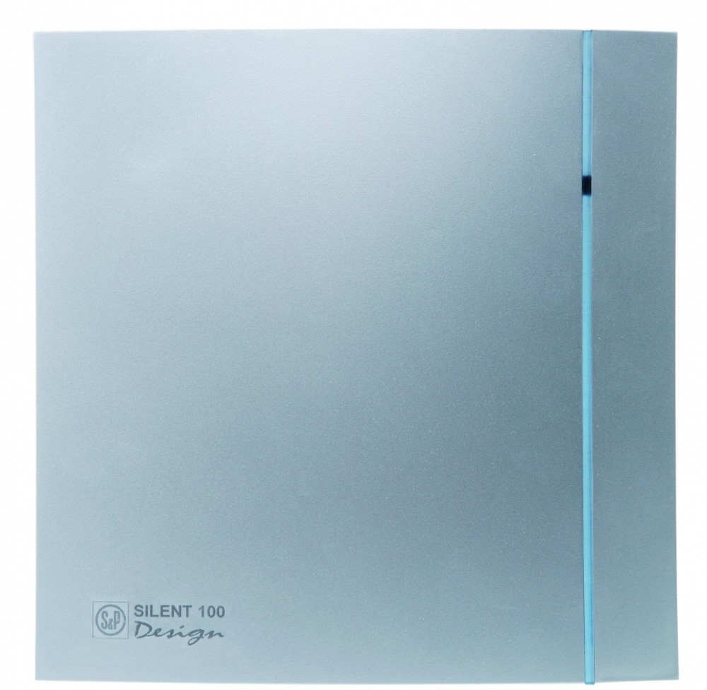 Малошумный вентилятор Soler & Palau SILENT-100 CRZ SILVER DESIGN