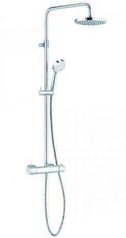 Душевая система Kludi Logo Dual Shower System 1S с термостатом 6809505-00, фото 2