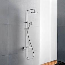 Душевая система Kludi Logo Dual Shower System 1S с термостатом 6809505-00, фото 3