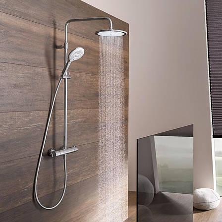 Душевая система с термостатом Kludi Freshline Dual Shower System с термостатом 6709205-00, фото 2